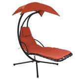 ***silla Mecedora Con Sombrilla Para Exteriores Patio,jardín