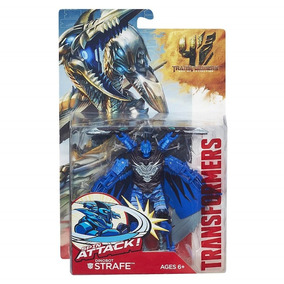 Boneco Transformers 4 Power Battlers Dinobot Strafe A6147 Ha