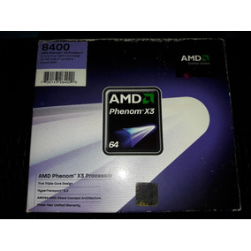 Amd Phenom X3 8400 Am2+ 2.1 Ghz + Fan Cooler (venta O Cambio