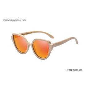 Gafas De Sol De Bambú Natural