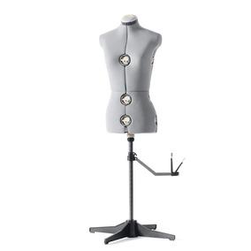 Maniquí Ajustable Mediano Grande Singer Df151 Costura Gris