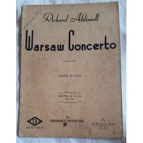 Partitura Para Piano - Warsaw Concerto - Richard Addinsell