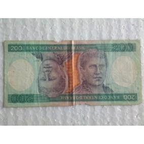 Cédula De 200 Duzentos Cruzeiros (a 4263058376 A)