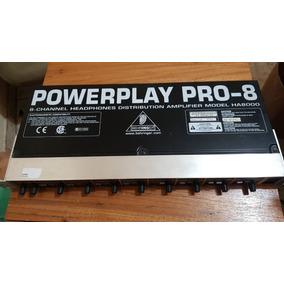 Amplificador Powerplay Pro-8 Modelo Ha8000