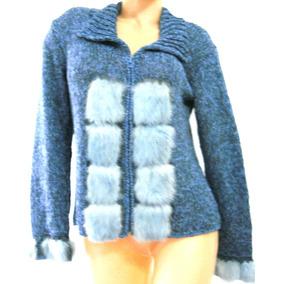 Sweater Con Piel De Conejo - Ropa y Accesorios en Mercado Libre ... 5df6872c2966