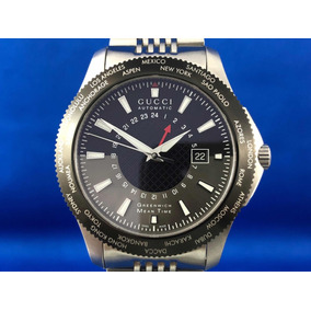 Reloj Gucci Timeless Gmt Automatico Swiss Made, Full Set.