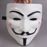 Mascara Anonymous Anonymus V Vendeta Halloween Importada