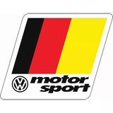 2 Adesivos Vw Volkswagen Motorsport German A Pronta Entrega