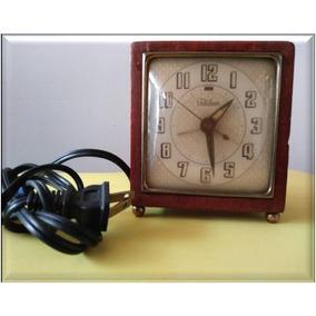 Reloj De Baquelita Telechron Década De 1950