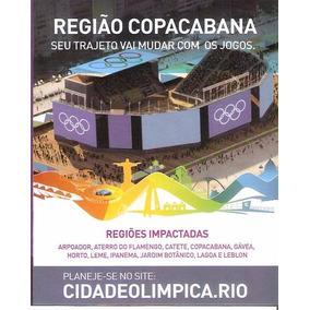 Guia Oficial Olimpíada Rio 2016 Competições De Rua Mapas.