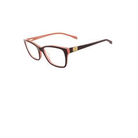 Óculos De Grau Feminino Bulget Bg 6218 H01 Lente 5,4 Cm 86319135c2
