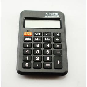 Calculadora De Bolsillo 8 Dígitos Con Tapa Estuche Ct-210n