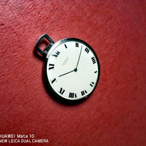 Reloj De Bolsillo Universal Geneve Ultra Slim Vintage