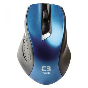 Mouse Wireless C3 Tech M-w001 Bl Usb Nano Azul