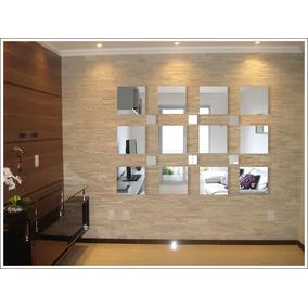 Espelhos De Vidro Grande Decorativos, Quadrados - N