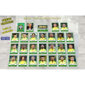 Seleção Brasileira Copa 2018 Figurinhas Futebol Cards Neymar