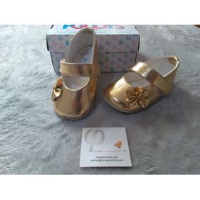 Zapatos Para Bebe Color Dorados