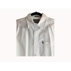 Camisa Abercrombie & Fitch Muscle Blanca Como Nueva