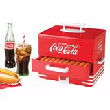 Maquina Vaporera Para Hot Dogs Nostalgia Electrics Coca Cola