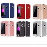 Case iPhone 6 Plus, 7, 7 Plus, 8, 8 Plus, X 360 + Mica