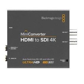 Mini Conversor Blackmagic Hdmi Para Sdi 4k Blackmagic Design