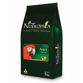 Ração Super Premium Nutrópica Com Frutas Para Arara 5kg