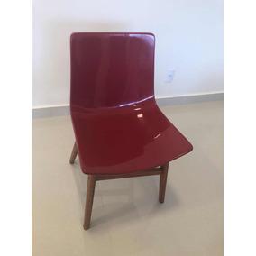 Cadeira Liba Vermelha - 4 Unidades
