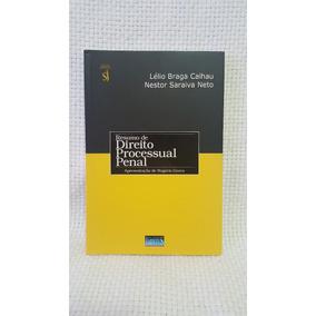 Livro Resumo De Direito Processual Penal