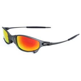 Oakley Polarizado Laranja Juliet - Óculos no Mercado Livre Brasil 26c74d2eb1