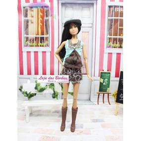 cef3f8a0664 Kit De Roupinhas Sapatos Para Barbie - Bonecas e Acessórios no ...