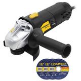 Esmerilhadeira Hammer 710w - 220v Com 03 Discos De Corte Aço