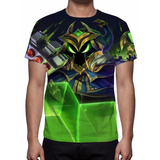 Camisa, Camiseta League Of Legends - Veigar Chefão Final
