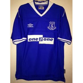5fdd422a5 Jersey Everton De Inglaterra Umbro Rara L Hermosa