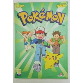 Álbum Pokemon - Chiclete Buzzy - Semi-completo