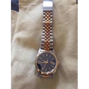 a3a6cb2faf4 Raro Rolex Oyster Perpetual Datejust 1601 Aço Ouro Rosé ...