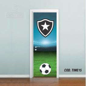 b4fa1e5fee19d Adesivo De Porta Futebol Botafogo 3 Artes (cod.time15)