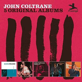 Box 5 Cd John Coltrane 5 Original Albums - Importado