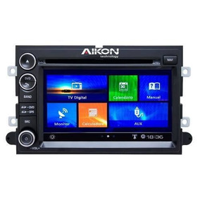 Kit Central Multimidia Dvd Gps Ford Fusion 07/09 Aikon