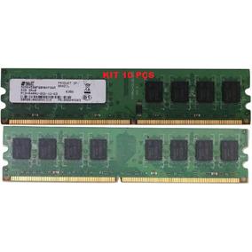 Kit 10 Memória Ddr2 2gb 800mhz Pc2-6400u