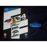 Blu-ray Novo - Velozes E Furiosos - Fast And Furious - 4 Set