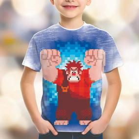 Camiseta Personalizada Wifi Ralph Quebrando A Internet Hd 13