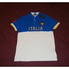 Camisa Tommy Hilfiger Y Italia Edicion Paises 100% Original 29318f4edc4a7