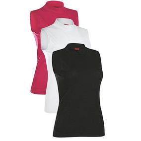 Tripack Blusa Hrr 2015 Color Rosa Blanco Negro Dama Oi