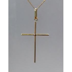 4a964d59a1f8c Pingente Crucifixo Maciço Ouro 18k 7,5 Gramas - Pingentes de Ouro no ...