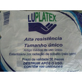 Luva Plastica Esteril 500 Unidades Luplatex