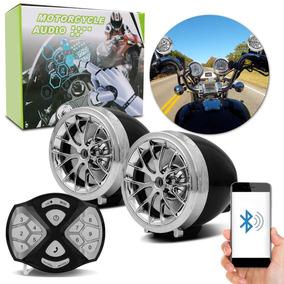 Caixa De Som Moto Bluetooth Mp3 Usb Rádio Prova D