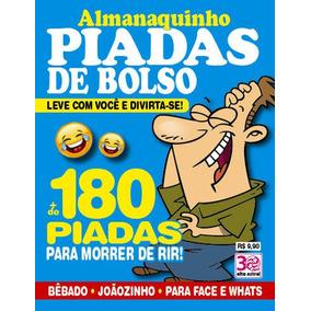 Almanaquinho Piadas De Bolso + De 180 Piadas
