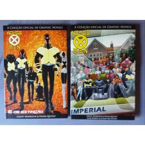 Novos X Men E De Extinção + Imperial +sobrecapa Frete Grátis