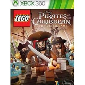 Lego Piratas Do Caribe. Xbox 360. Midia Digital