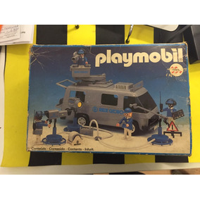 Playmobil Trol Furgão Da Tv Globo
